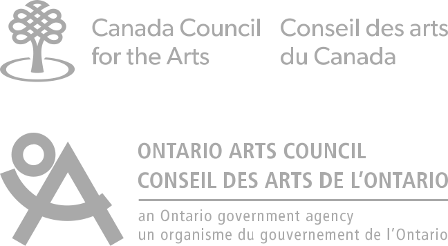 Canada Council for the Arts and Ontario Arts Council