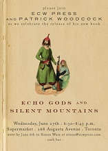 Patrick Woodcock, Echo Gods and Silent Mountains